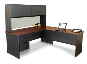 Desk L Marvel Pronto L Shaped Desk W 1 File Drawer Prnt4 L