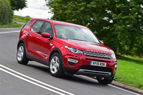 land rover discovery sport red land rover discovery sport review pictures auto express