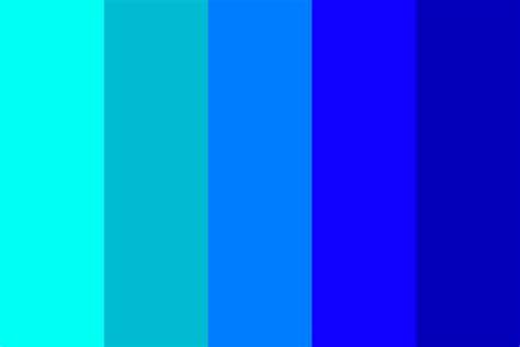 light blue color light blue to blue color palette