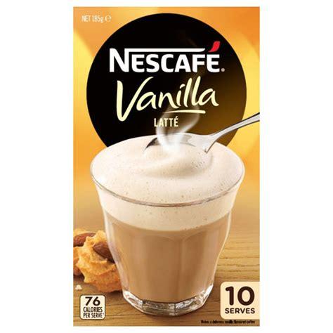 Day Vanilla Latte 10 Sachet Buy Nescafe Cafe Menu Coffee Mix Vanilla Latte 185g Box 10