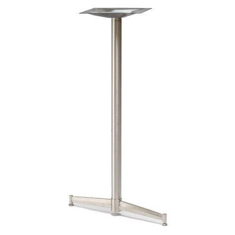 turin 22t stainless steel table base tablebases com