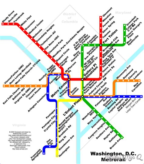 dc subway map washington subway map map travel holidaymapq