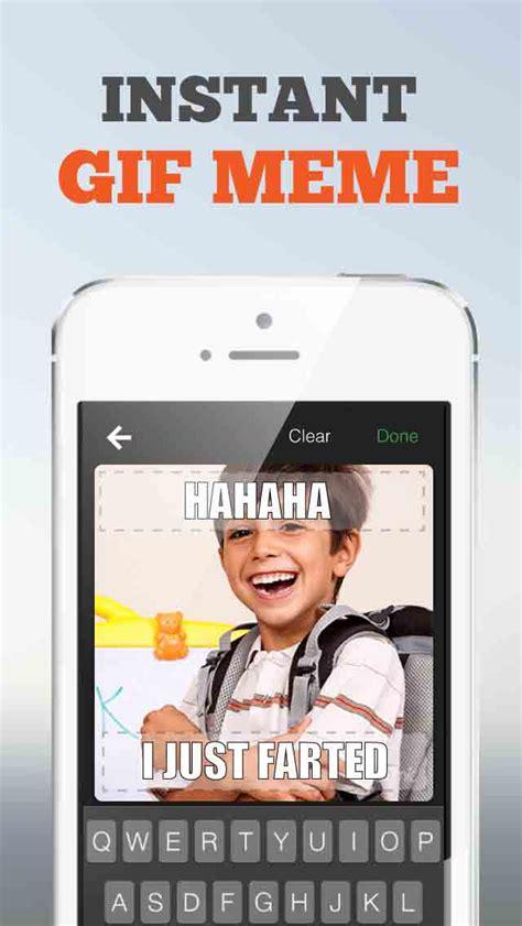 App To Create Meme - gifnic create gif meme selfies apppicker