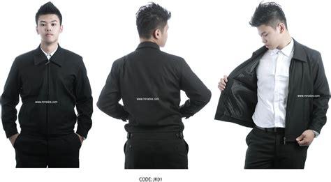 design jaket korporat executive jacket