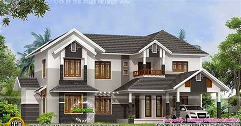 2015 sq ft sloping roof home kerala home design and 2788 sq ft sloped roof house plan kerala home design and