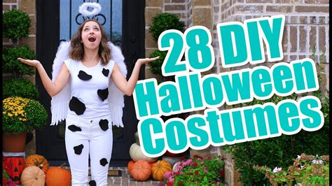 Halloween Costume Ideas Easy To Make At Home