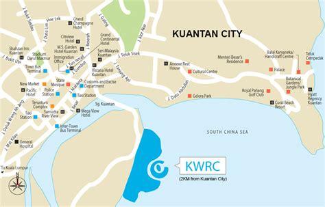 le resort kuantan map welcome to kwrc kuantan waterfront resort city