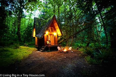 The Cabin In The by This Enchanting Cabin In The Forest Will Leave You