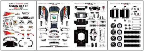 Epson Paper Craft - papermau 2012 s honda mugen cr z gt paper model by