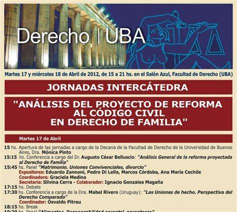 reforma codigo civil ecuatoriano derecho de familia persona y sucesiones jornadas
