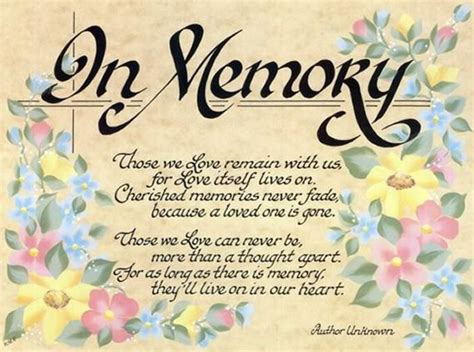 Birthday Quotes To A Loved One Memorial Poems For Loved Ones Memorial Loved Ones
