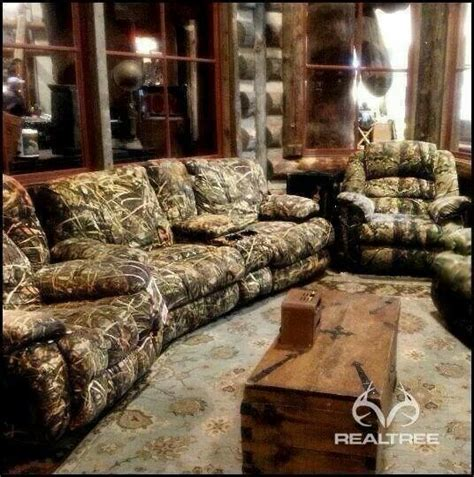 Realtree Camo Furniture Living Room Pinterest Camouflage Living Room Sets