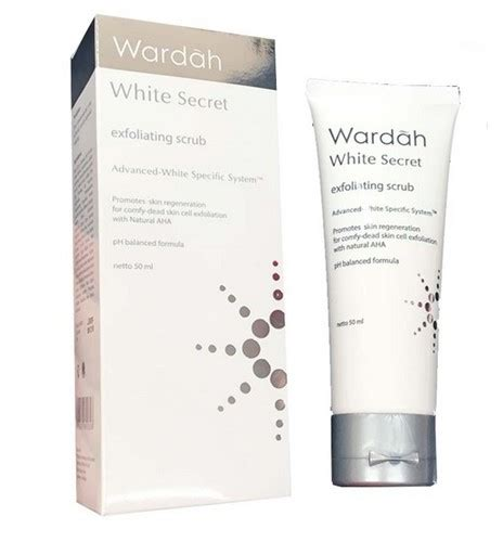 Harga Wardah White Secret 20 Ml review wardah white secret series membuat wajah cerah alami