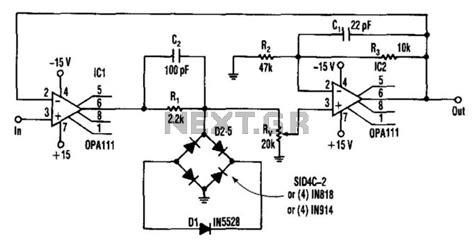 diode bridge limiter current limiting circuit power supply circuits next gr