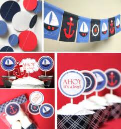 nautical baby shower decorations image gallery nautical baby shower decorations