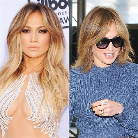 j lo new hairstyle jennifer lopez debuts lob haircut instyle com