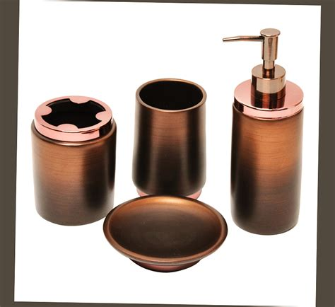 Brown Bathroom Accessories Best Rubbed Bronze Bathroom Accessories Ellecrafts