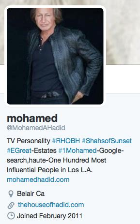 mohamed hadid muslim how did mohamed hadid from the real housewives of beverly