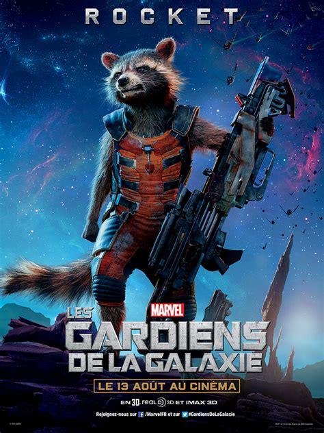film marvel les gardiens de la galaxie affiche les gardiens de la galaxie rocket