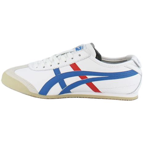 As Mexico66 By onitsuka tiger mexico 66 white blue unisex trainers ebay