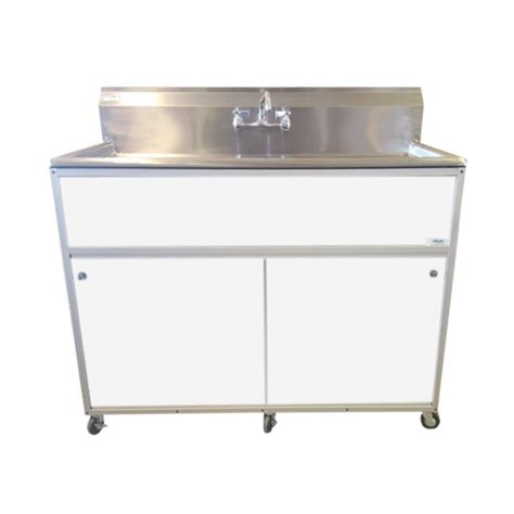 White Stainless Steel Sink Shop Monsam White Single Basin Stainless Steel Portable