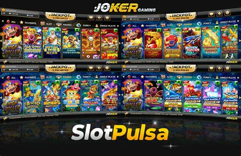 joker slot  deposit pulsa  game slot indonesia