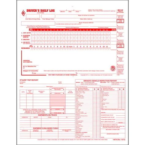the log book getting 1856231577 5 in 1 driver s daily log 2 ply carbonless loose leaf format personalized