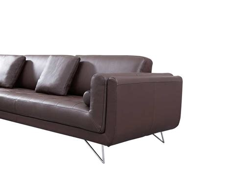 Espresso Sectional Sofa Katherine Espresso Leather Sectional Sofa Leather Sectionals