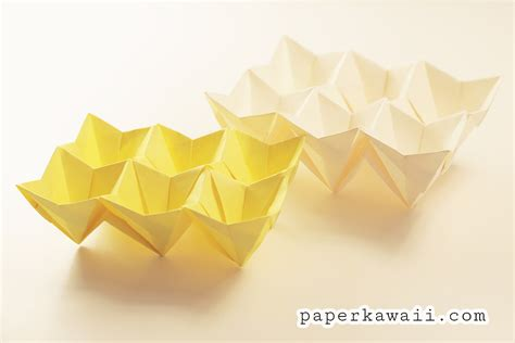 Origami Easter Egg - origami egg box tutorial easter paper kawaii