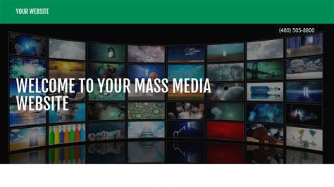 media template hosting exle 9 mass media website template godaddy