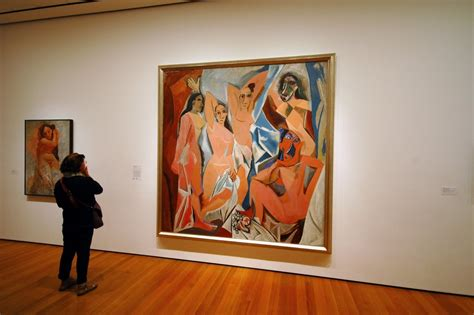 picasso paintings les demoiselles panoramio photo of picasso les demoiselles d avignon