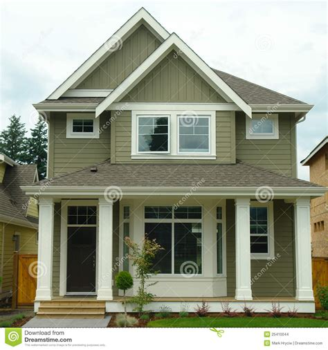 exterior image new home house exterior stock images image 25410044