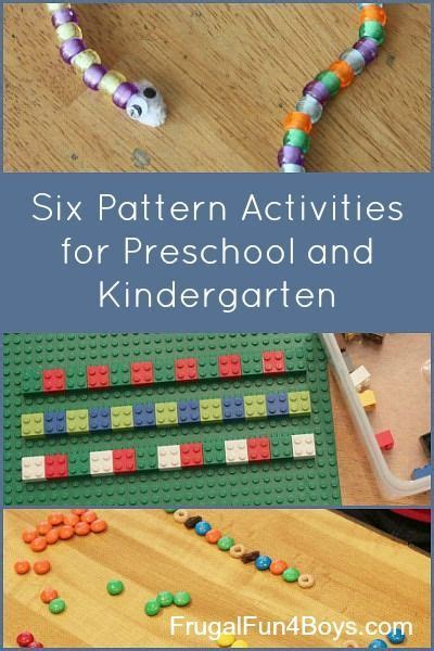 pattern activities for early childhood 17 best images about preschool on pinterest early