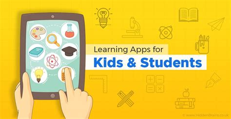 looking at learning apps in mobile learning apps for students hiddenbrains uk