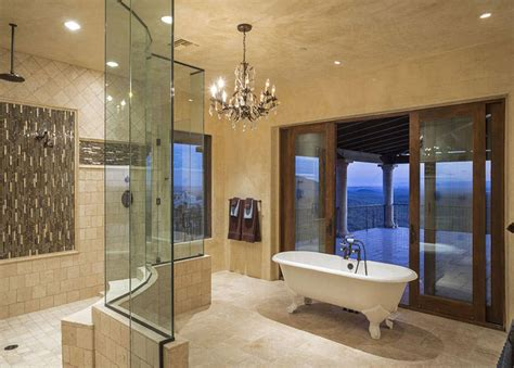 luxury master bathroom ideas 27 gorgeous bathroom chandelier ideas designing idea