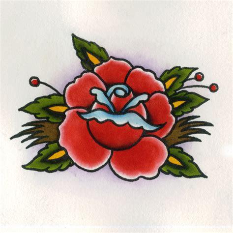 tattoo flash medium traditional rose tattoo flash flickr photo sharing