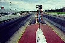 track racing tree dragstrip