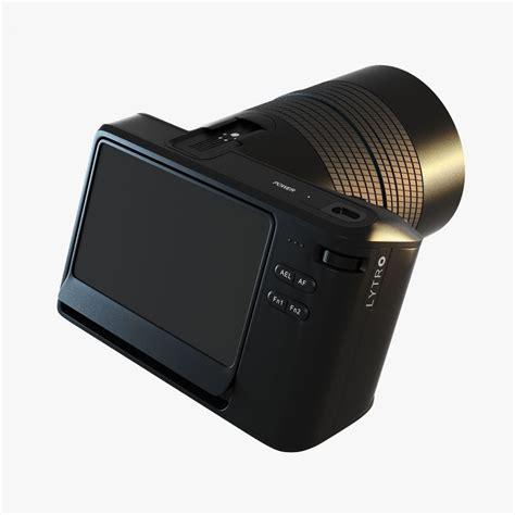 lytro illum light field digital lytro illum digital 3d model max obj 3ds fbx