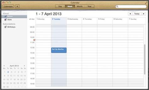 Icloud Calendar Icloud Calendar Calendar Template 2016
