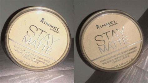 Rimmel Stay Matte Pressed Powder Original rimmel rimmel stay matte pressed powder review
