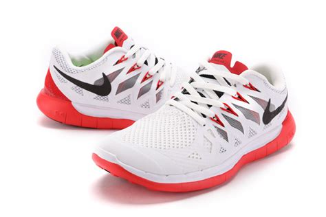 2015 new nike free 5 0 runing shoes white mens nike