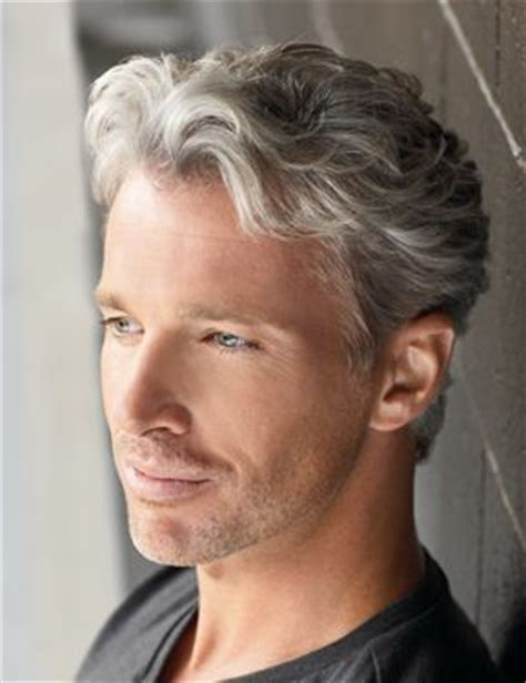 mens hair styles to hide grey area grey grey hair and male models on pinterest