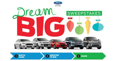 Dream Big Sweepstakes - 2014 dream car sweepstakes autos post