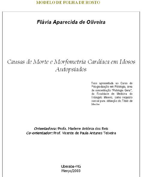 Abnt Tcc Como Requisito Parcial Para Obtenção Do Grau Mba by Normas Abnt P 225 2 De 3 Formata 231 227 O Para Monografias