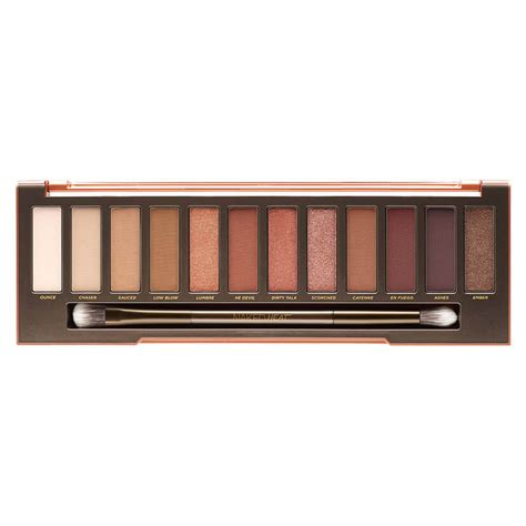 Decay In Palette heat eyeshadow palette decay mecca