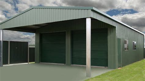 Colorbond Shed by Carports Carports And Garaports