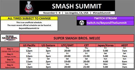 smash summit schedule  general info  post