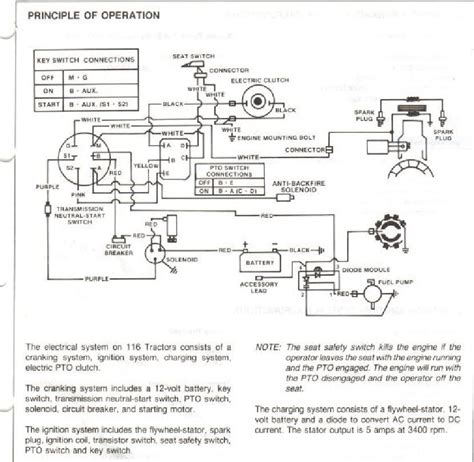 deere l130 wiring diagram colored wires deere