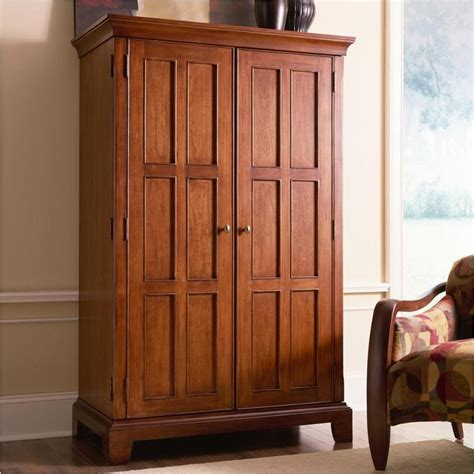 69085 riverside furniture american crossings computer armoire
