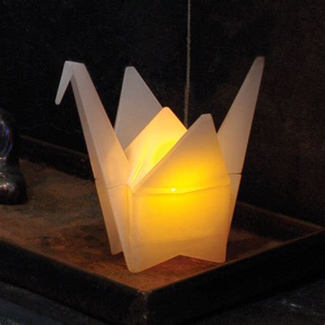 origami light gamago origami crane light table ls